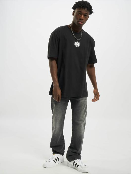 adidas Originals T-Shirt 3D Trefoil schwarz