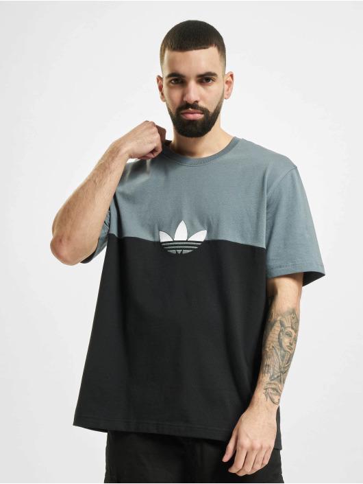 adidas Originals T-Shirt Slice Trefoil Box schwarz