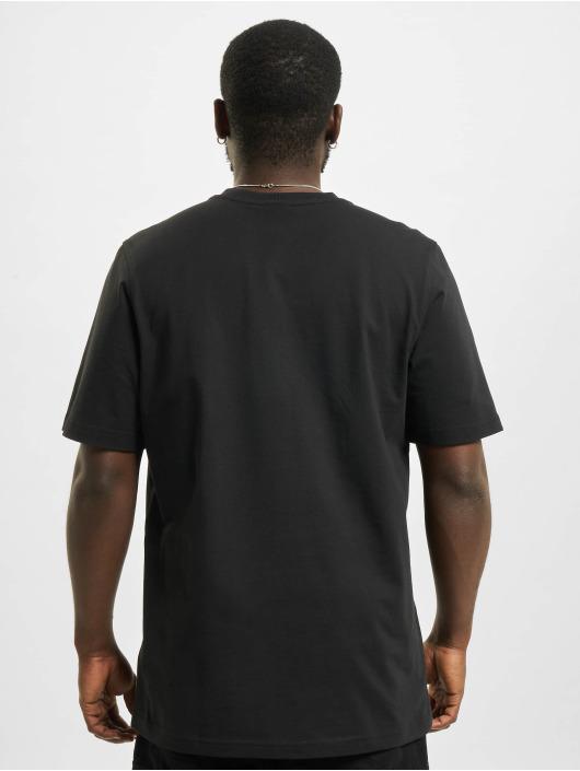 adidas Originals T-Shirt Trefoil Ombre schwarz