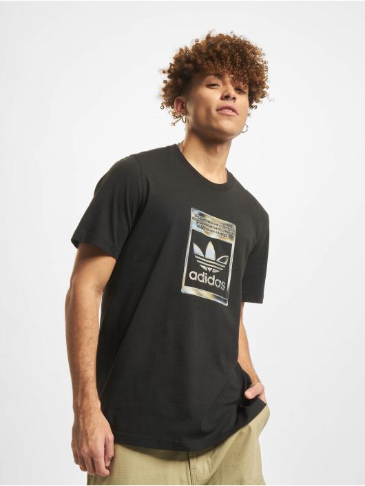adidas Originals T-Shirt Camo Infill schwarz