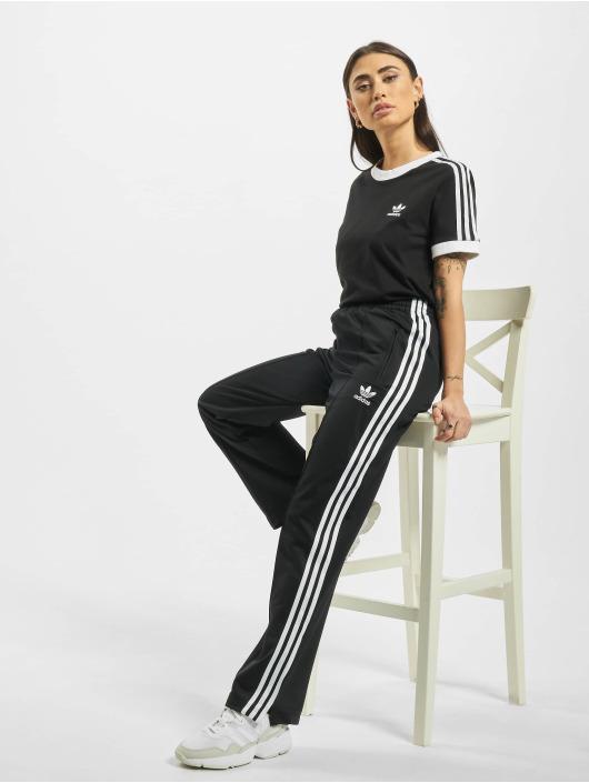 adidas Originals T-shirt 3 Stripes svart