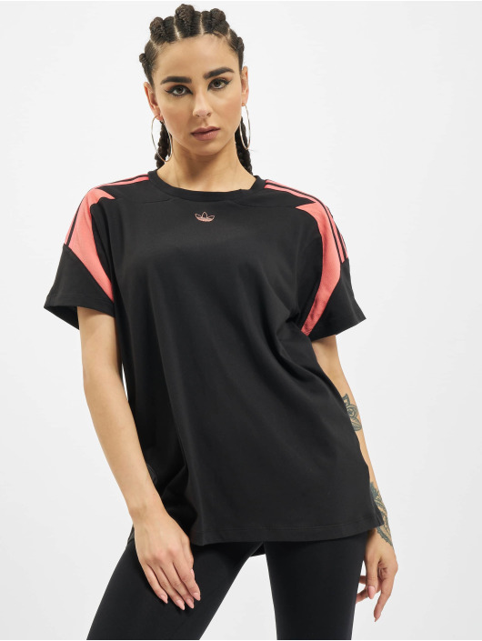 adidas Originals T-shirt Originals Boyfriend svart