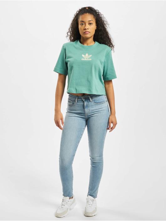 adidas Originals T-Shirt Oversize türkis