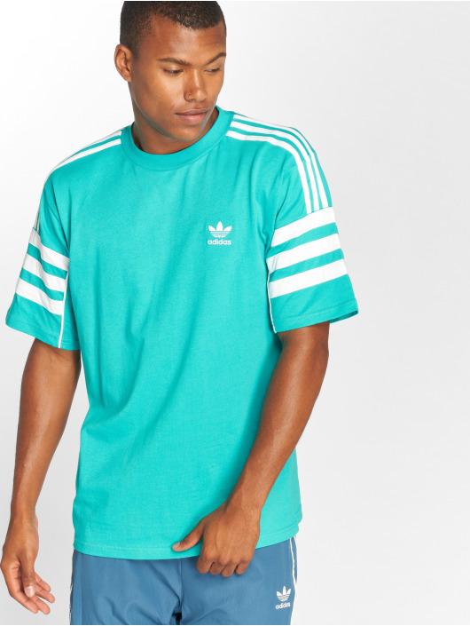 adidas originals T-Shirt Auth S/s Tee turquoise