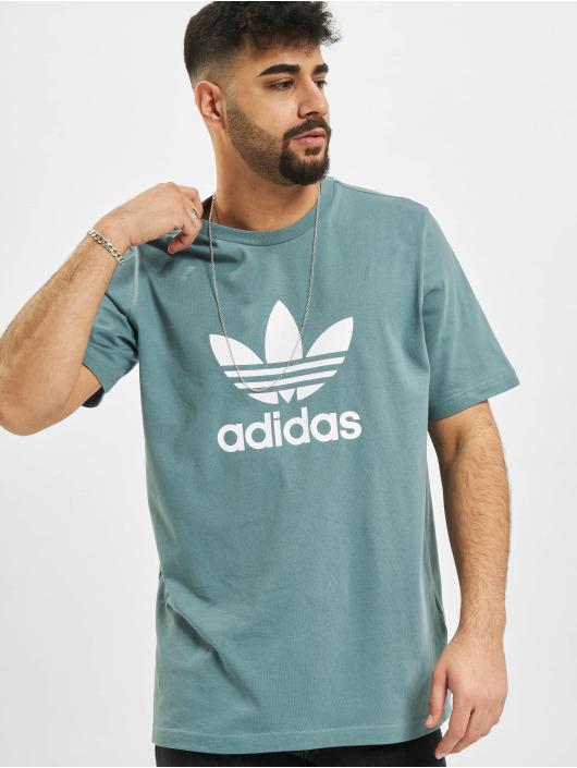 adidas Originals T-Shirt Trefoil turquoise