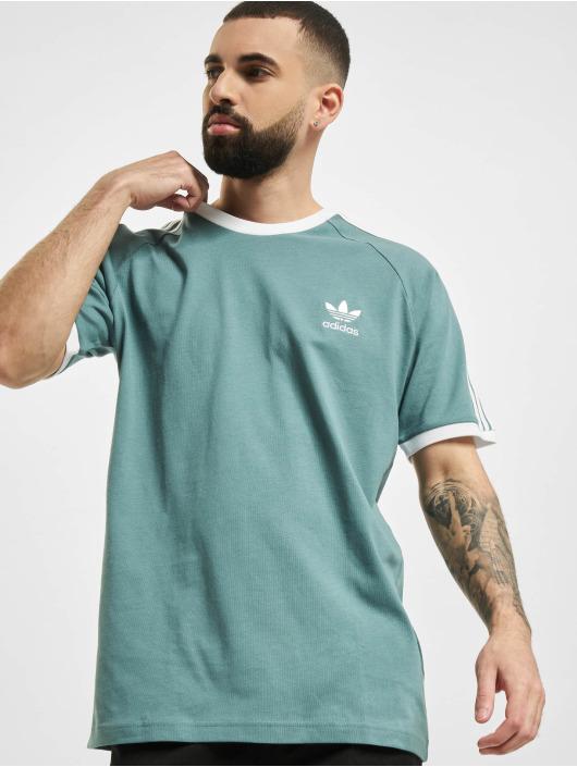 adidas Originals T-Shirt 3-Stripes vert
