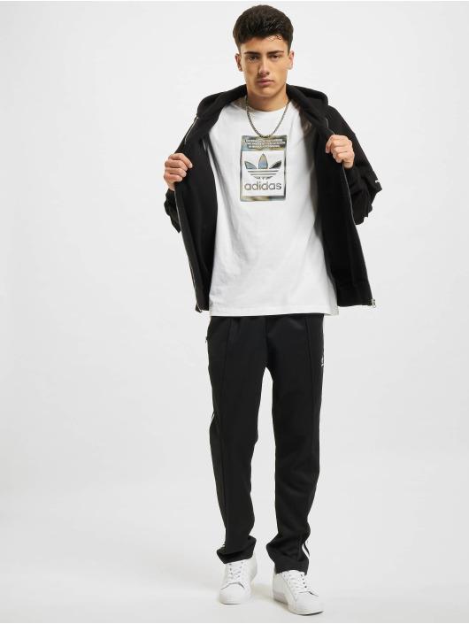 adidas Originals T-shirt Camo Infill vit