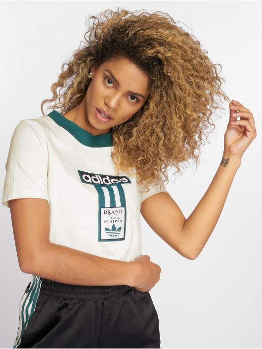 adidas originals T-Shirt Blacra weiß
