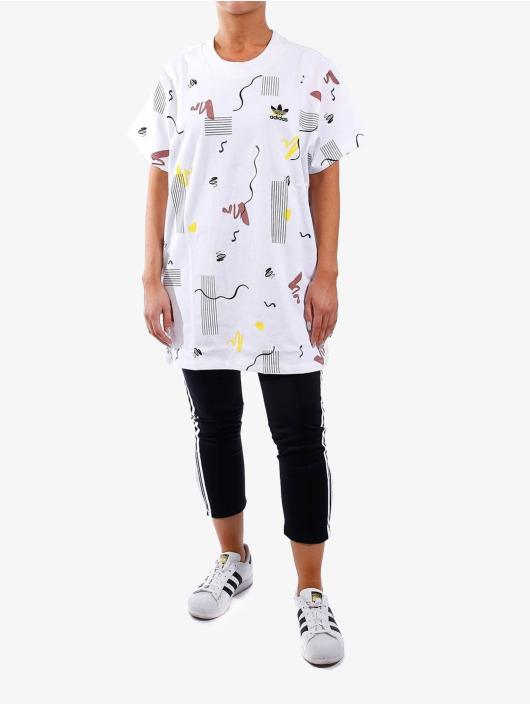 adidas Originals T-Shirt Color Dab weiß