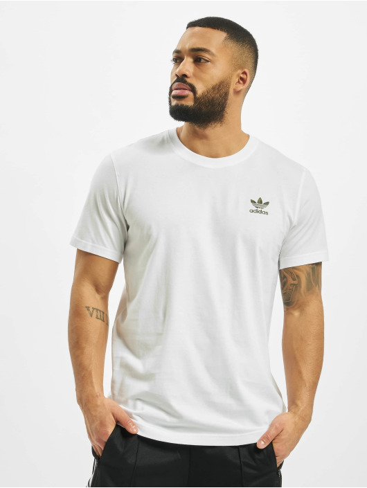 adidas Originals T-Shirt Camo Essential weiß