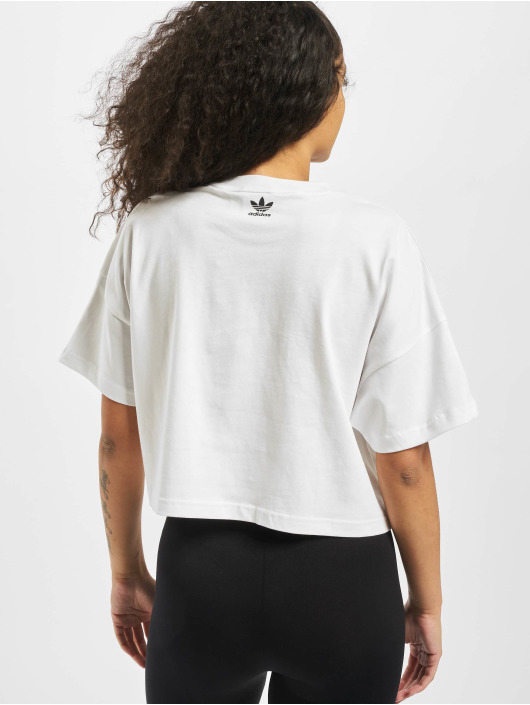 adidas Originals T-Shirt LRG Logo weiß