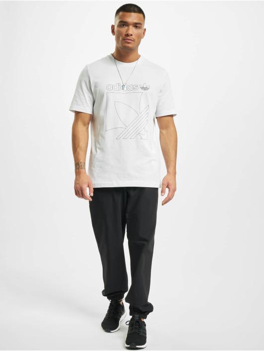 adidas Originals T-Shirt Sport 3-Stripes weiß