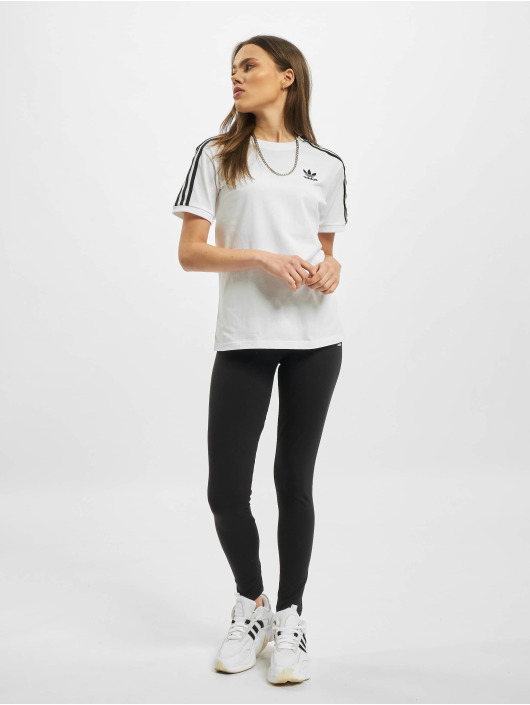 adidas Originals T-Shirt 3 Stripes weiß
