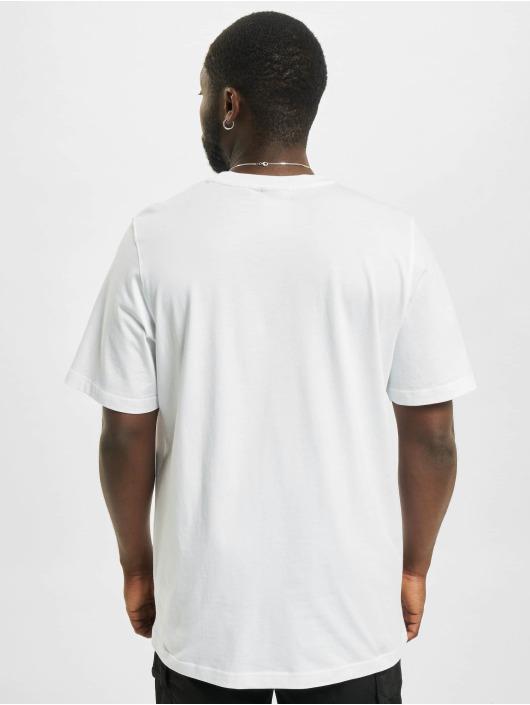 adidas Originals T-Shirt Trefoil Ombre weiß