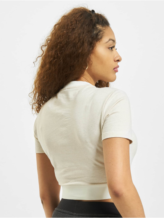 adidas Originals T-Shirt Cropped weiß