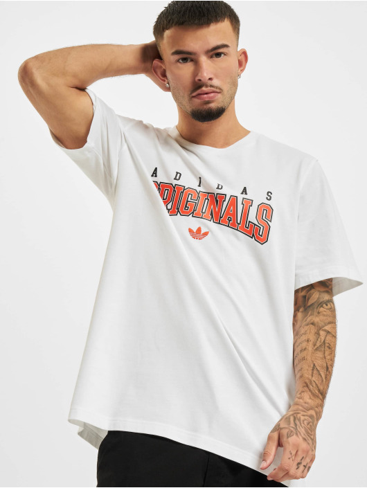 adidas Originals T-Shirt Script weiß