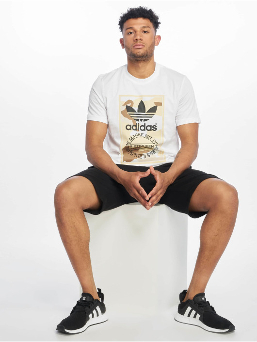 adidas Originals T-Shirt Camo white