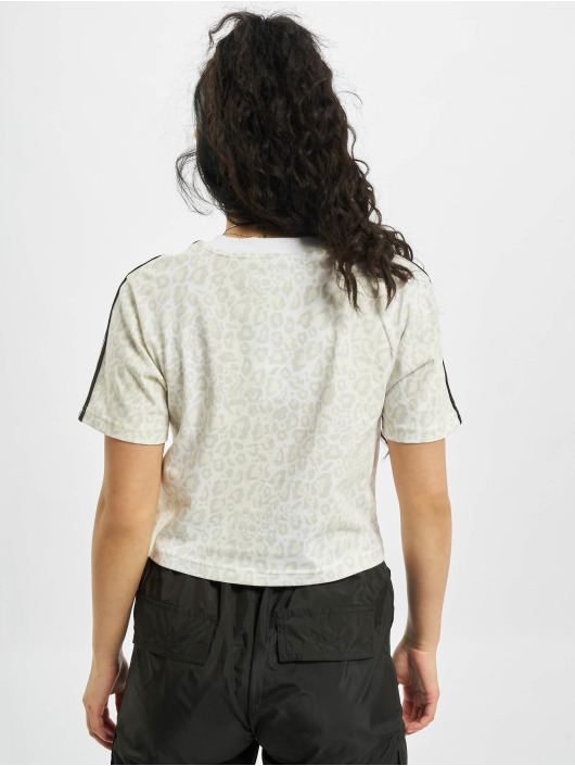 adidas Originals t-shirt Cropped wit