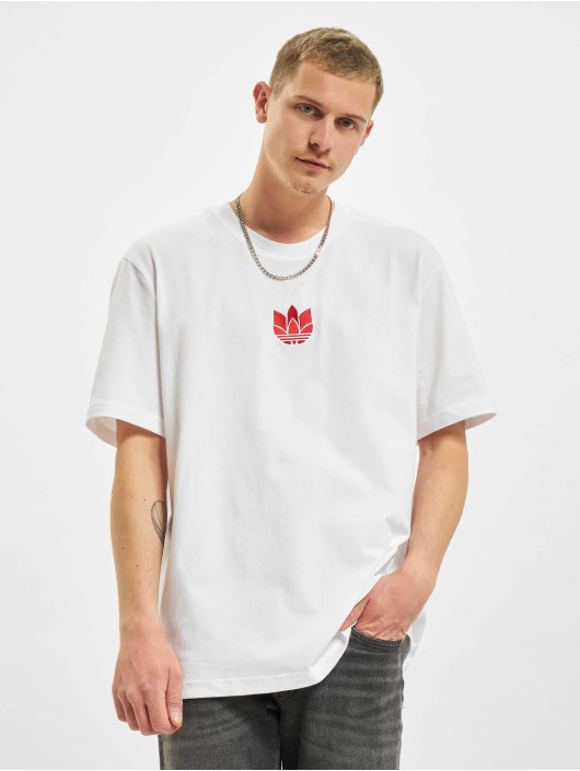 adidas Originals t-shirt 3D TF wit