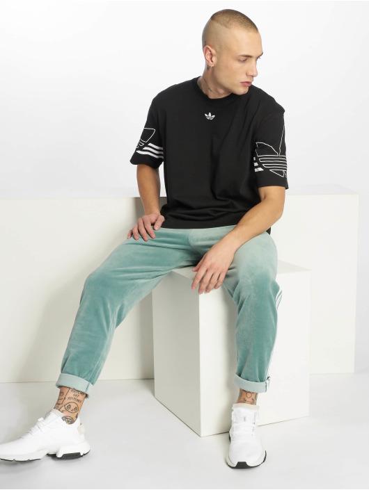 adidas originals t-shirt Outline zwart