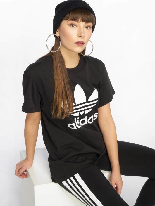 Adidas Originals Boyfriend T-Shirt Black