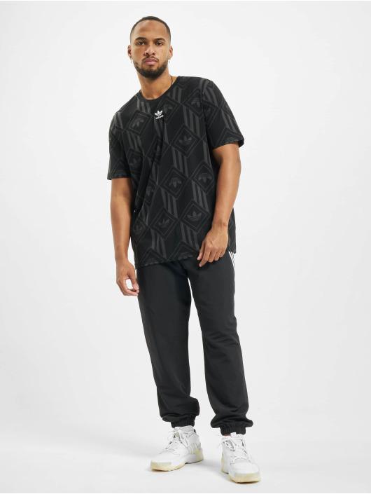 adidas Originals t-shirt Mono zwart