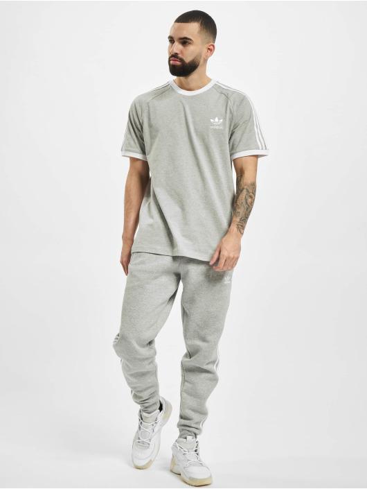adidas Originals T-shirts 3-Stripes grå