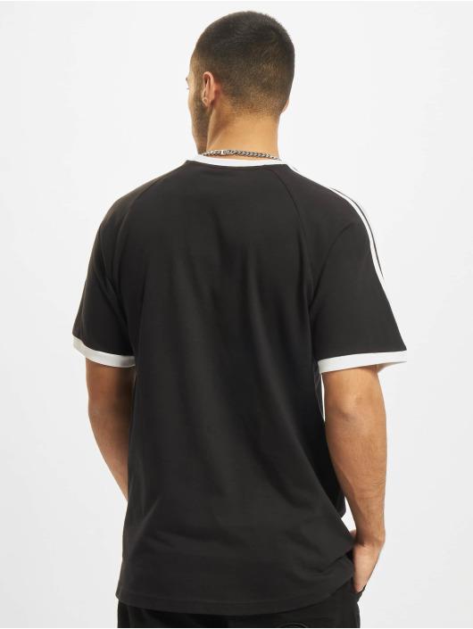 adidas Originals T-shirts 3-Stripes sort