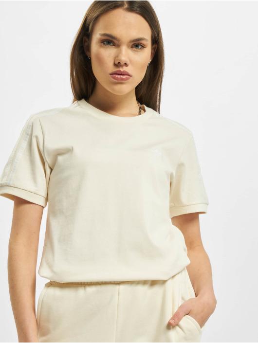 adidas Originals T-Shirty 3 Stripes bezowy