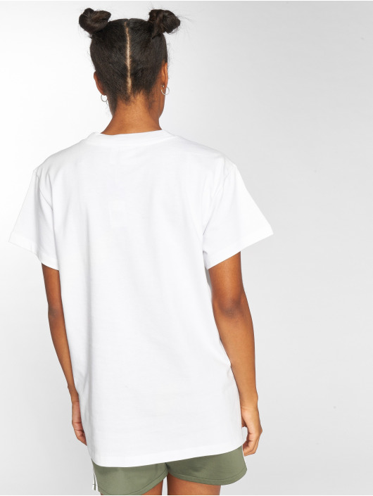 adidas originals T-Shirty Big Trefoil bialy