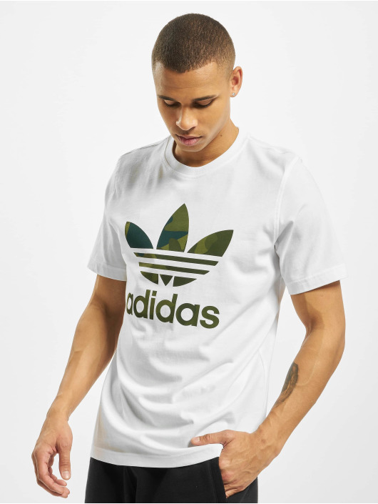 adidas Originals T-Shirty Camo Infill bialy