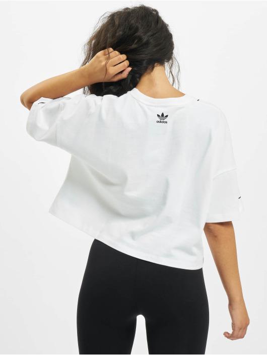 adidas Originals T-Shirty LRG Logo bialy