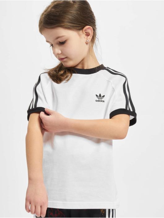 adidas Originals T-Shirty 3stripes bialy
