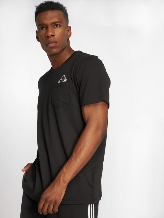 adidas originals T-Shirty Skt Pckt T czarny