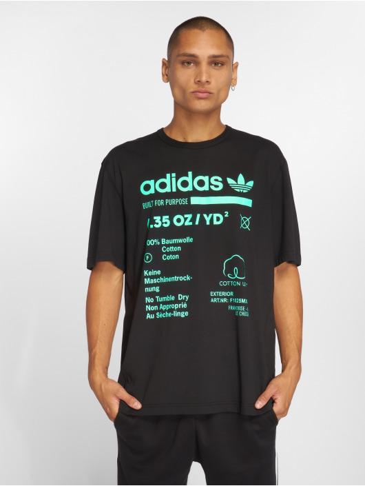 adidas Originals T-Shirty Kaval Grp czarny