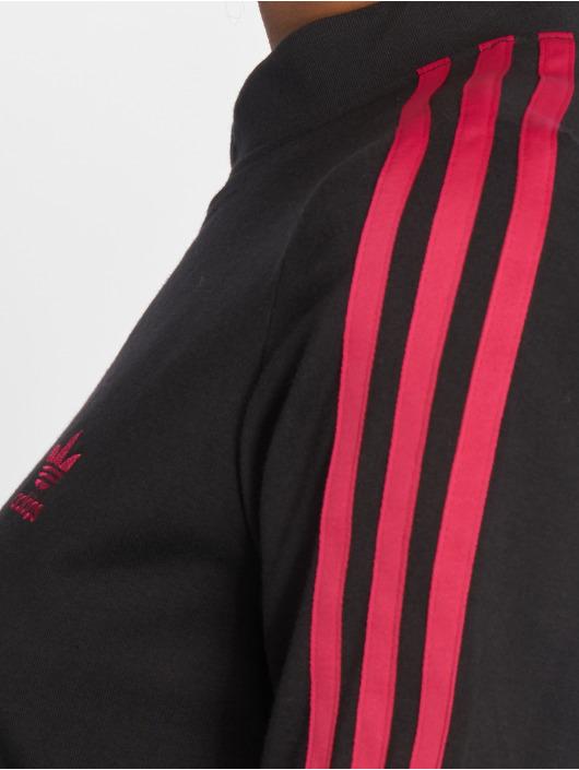adidas originals T-Shirty LF Long czarny