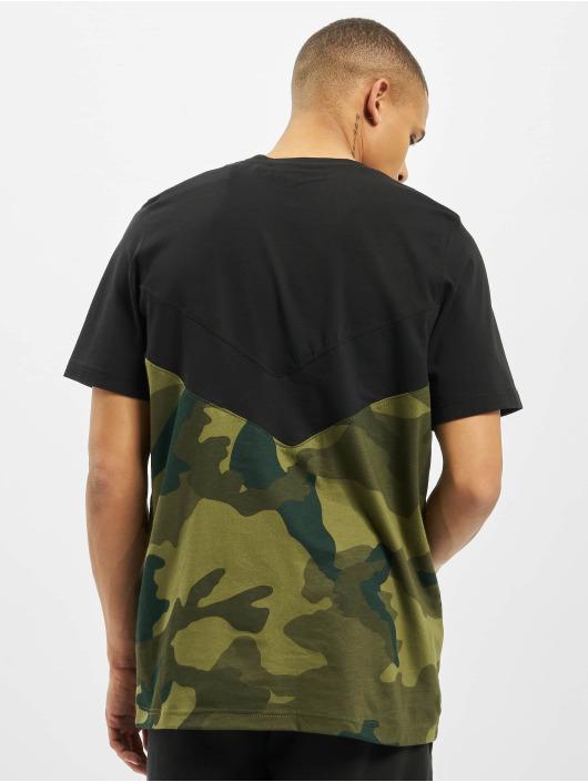 adidas Originals T-Shirty Camo Block czarny