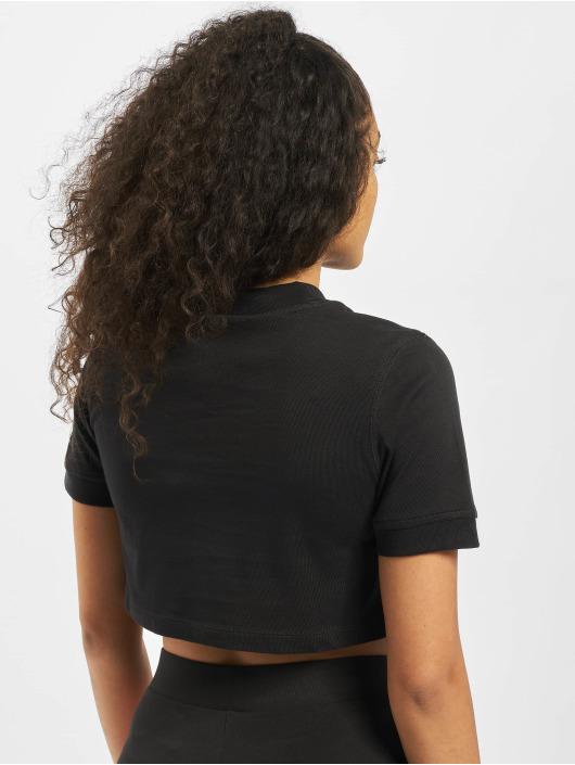 adidas Originals T-Shirty Cropped czarny