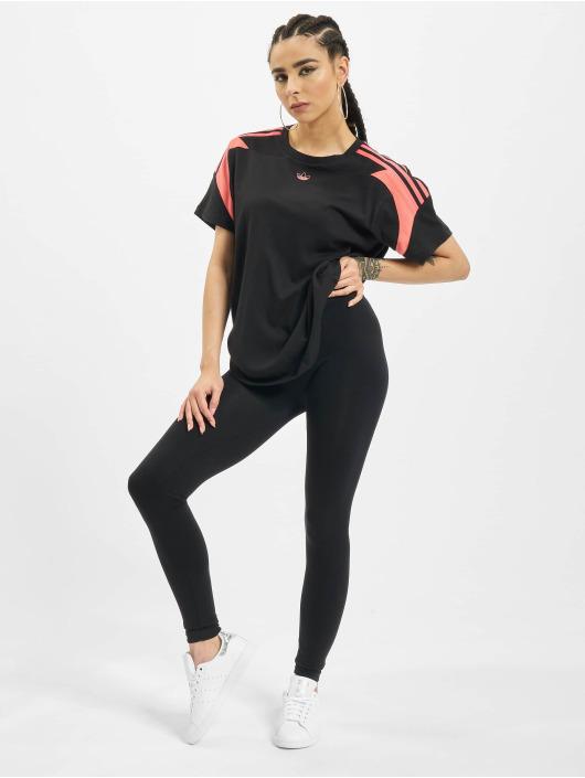 adidas Originals T-Shirty Originals Boyfriend czarny