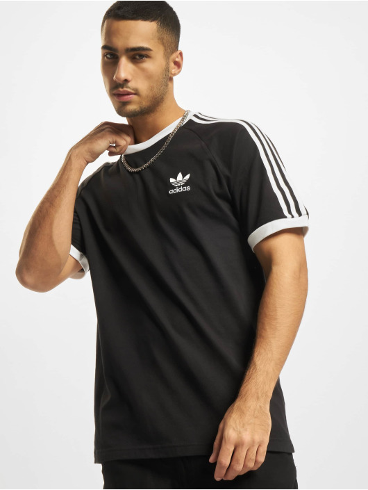 adidas Originals T-Shirty 3-Stripes czarny