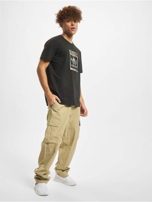 adidas Originals T-Shirty Camo Infill czarny