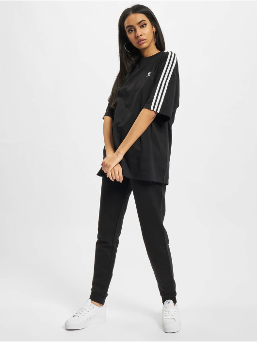adidas Originals T-Shirty Oversized czarny