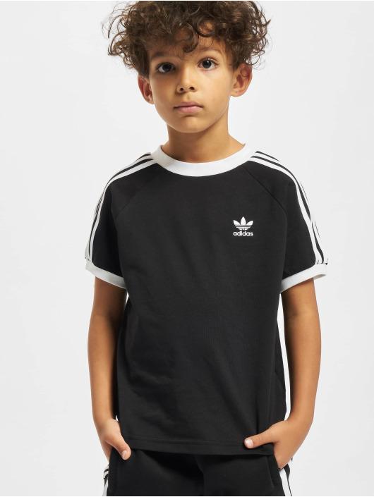 adidas Originals T-Shirty 3stripes czarny