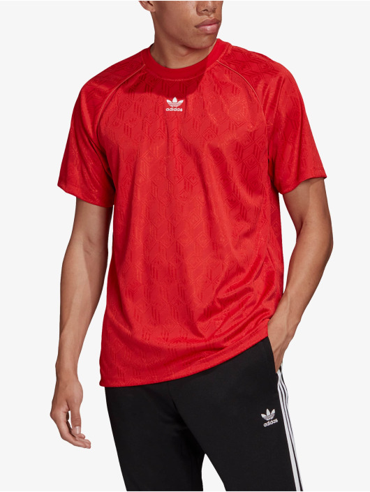 adidas Originals T-Shirty Mono czerwony