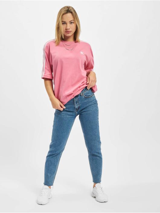 adidas Originals T-Shirty Oversized czerwony