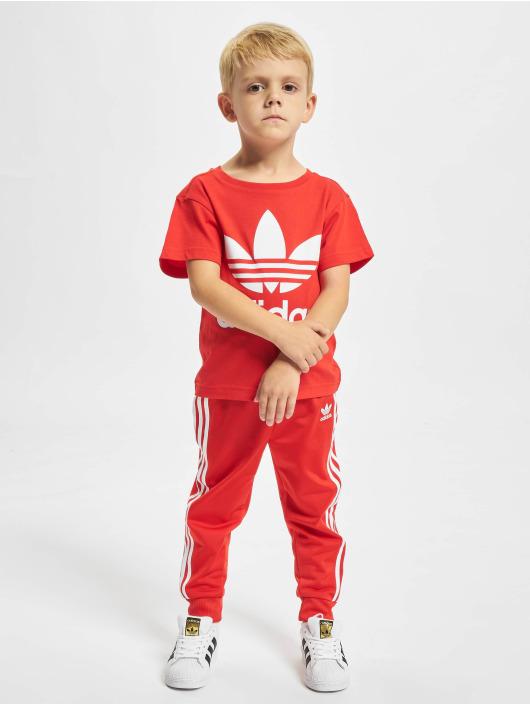 adidas Originals T-Shirty Trefoil czerwony