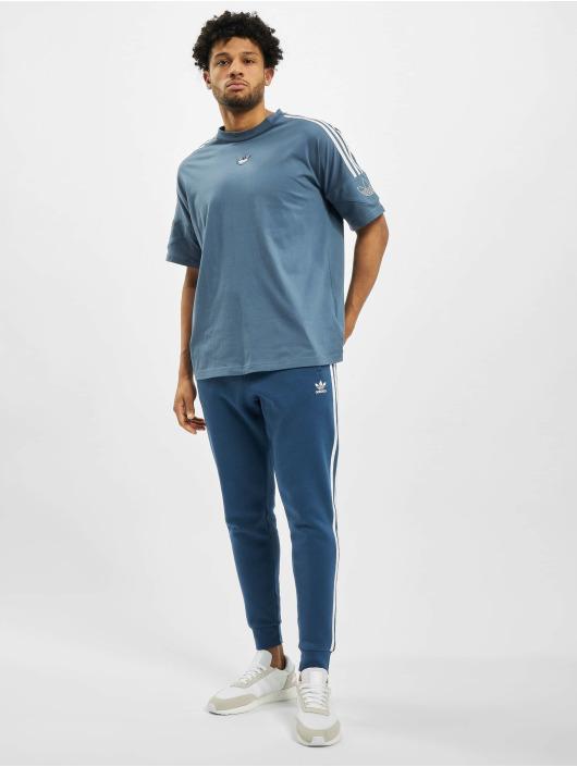 adidas Originals T-Shirty TRF niebieski