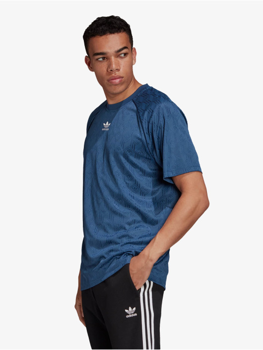 adidas Originals T-Shirty Mono niebieski