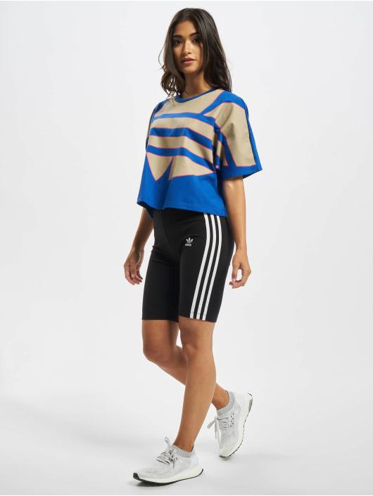 adidas Originals T-Shirty Big Trefoil niebieski