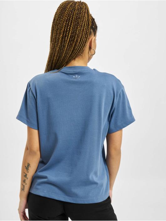 adidas Originals T-Shirty Loose niebieski